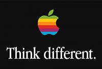 希拉里竞选标志设计参考苹果标志