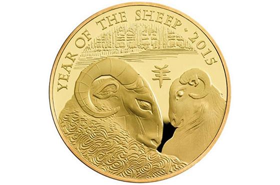 华裔艺术家设计英国羊年纪念币