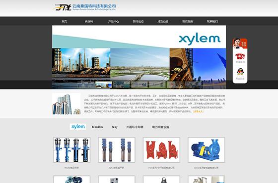 云南弗瑞特科技有限公司网站设计