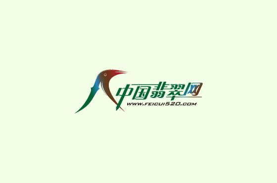 中国翡翠网字体LOGO设计