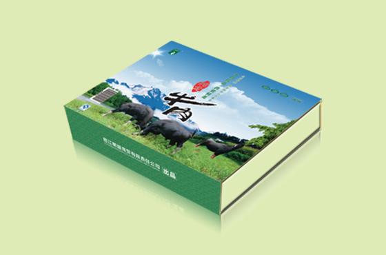 怒江明盛商贸有限公司牛肉包装设计