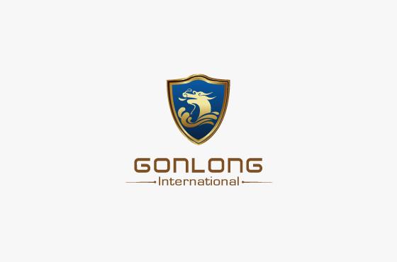昆明港龙国际投资公司LOGO设计