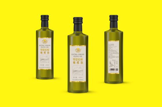 丽江三全久顾橄榄油包装设计